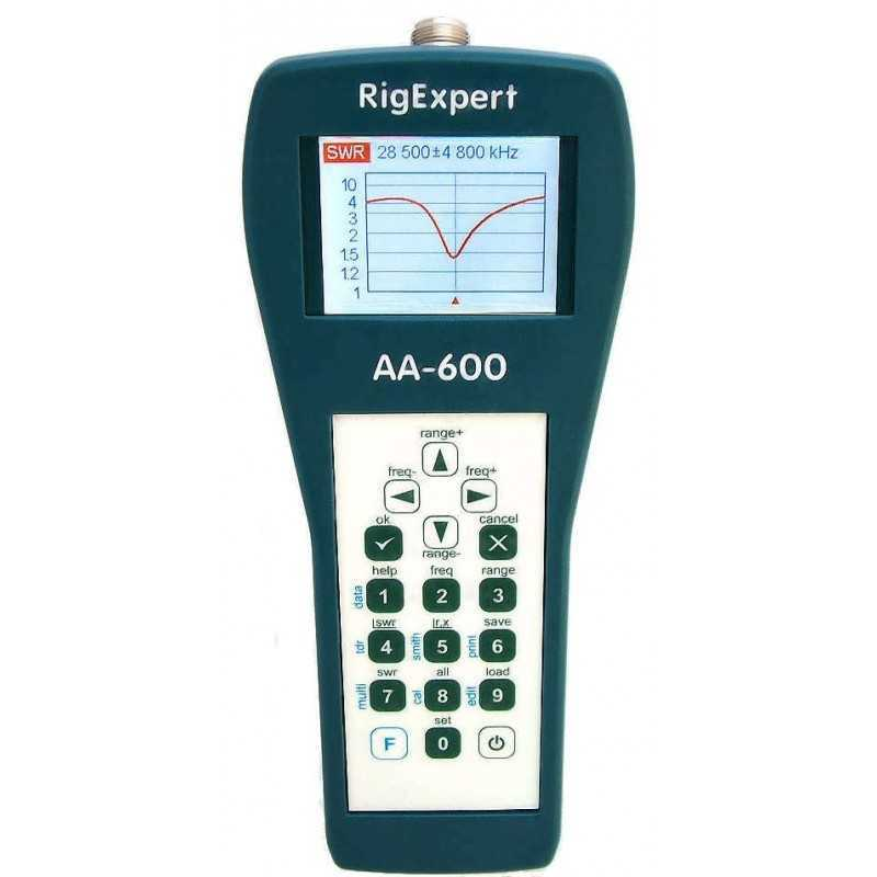 RigExpert AA-600 Antenna Analyzer